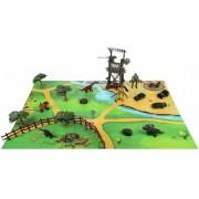 Наша Игрушка Игровой набор Солдаты и Динозавры