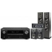 Polk Audio Denon Avr-X2500+ Polk T50+t30+t15