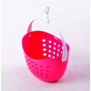 Csipesztartó kosár pink Vixi