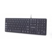 Tastatura Cu Fir Gembird KB-MCH-02 Multimedia USB Neagra