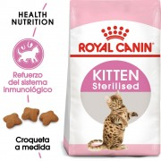 2 kg Kitten Sterilised Royal Canin pienso para gatitos