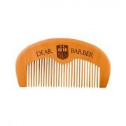 DEAR BARBER Beard Comb hřeben na úpravu vousů 1 ks pro muže