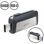 SanDisk Ultra Dual Drive USB Type-C Flash Drive SDDDC2-064G-G46 - 64GB