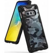 Husa Samsung Galaxy S10 Lite Ringke FUSION X Design Negru Camuflaj