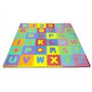 GGI INTERNATIONAL Kids Matney Foam Floor Alphabet & Number Puzzle Mat (36 Piece)