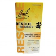 Bach Pack of 5 x Rescue Remedy Pet 20 ml
