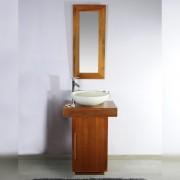 Saniteck Meuble salle de bain teck 60 Eros