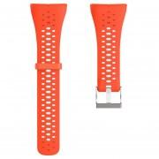 Nueva tira de silicona Correa de Pulsera Correa Polar M400 M430 Smart tira de GPS-Naranja