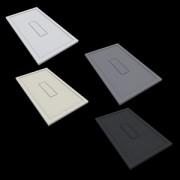 Scelto Da Desivero Carpet Design Piatto Doccia 100x80 Grigio