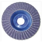L.S.C. Isolanti Elettrici Disco Superior Lamellare 115x22 Grana 80 Zirconio Supporto In Nylon