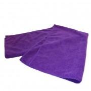 Twotags Microfibre Gym Training Medium Towel Purple
