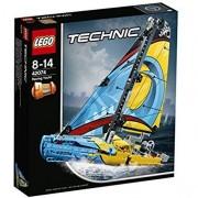 Lego technic 42074 yacht da gara