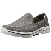 Skechers Men's Go Walk 3 Grey Nordic Walking Shoes - 11 UK/India (46 EU) (12 US)