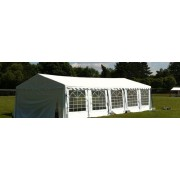 Classic Plus Partytent PVC 5x10x2 mtr in Wit