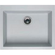 elleci Lgq10552 Lavello Cucina Fragranite 1 Vasca Incasso Larghezza 57 Cm Materiale Granitek Colore Bianco Pietra G52 - Lgq10552 Quadra 105