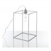 Tomasucci Šedá stolní lampa Tomasucci Stick, 36 x 25 x 25 cm