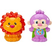 Fisher-Price Laugh & Learn Talk and Teach Monkey and Lion