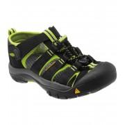 KEEN Newport H2 K Dětské sandály KEN1201064703 black/lime green 8(25/26)