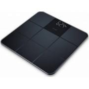 Cantar de sticla Beurer GS235 Afisaj LCD 180kg Negru