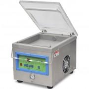 vidaXL Professionell vakuumförpackare rostfritt stål 350 W