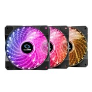 RaidMax 120mm 1200rpm 23dBA RGB LED Fan 3x Pack