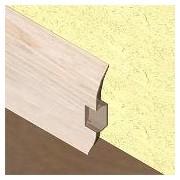 PBC605.122-Plinta pentru cabluri din PVC, 60x20 mm, 2,5 m lungime, culoare frasin deschis