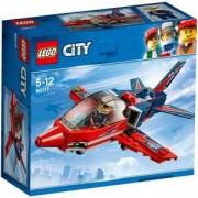 Конструктор ЛЕГО СИТИ - Самолет за въздушно шоу, LEGO City Great Vehicles, 60177
