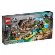 Lego Jurassic World - T. Rex vs. Dinosaurio Robótico - 75938
