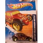 Hot Wheels Heat Fleet 11 9/10 Custom Volkswagen Beetle 99/244 Purple With Flames