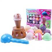 Lanlan Children Ice Cream Pile-Up Stacking Tower Balancing Game Pile-Up Family Games For Kid