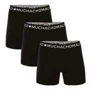 Muchachomalo Boxershorts Solid185 3 pack-M