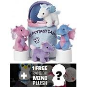 My Fantasy Castle Mini-Plush Set: Aurora My Baby Talk Play Set + 1 FREE Aurora Mini-Plush Charm Bundle [208056]