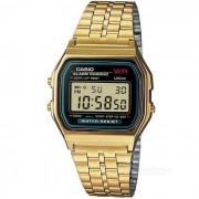 Casio A159WGEA-1DF reloj digital clasico unisex - dorado + negro