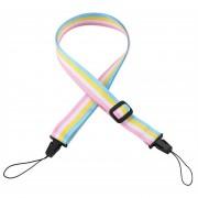 EW Película instantánea Rainbow cuello Correa de hombro para cámara Fujifilm Instax Mini