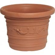 giardini del re Vaso Prestige 60x44h Vaso Per Piante In Resina Festonato Da Esterno Tondo Cm 60x44h - Prestige