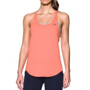 UNDER ARMOUR HeatGear Coolswitch Womens Running Tank Top Pink