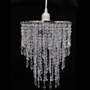 vidaXL Кристален полилей, 22.5 х 30.5 см