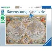 Puzzle Harta Istorica, 1500 Piese Ravensburger