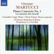 B. Martucci - Piano Concerto No.1 (0747313093175) (1 CD)