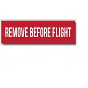 Squadron Products Remove Before Flight' Hat Patch Clothing