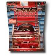 Maisto Pro Rodz Red 1962 Chevy Bel Air 1:64 Scale Die Cast Car