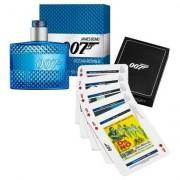 Kit James Bond 007 Ocean Royale Perfume Masculino EDT 50ml + Playing Cards - Masculino