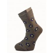 Gyerek zokni - Szürke kék virág 29-30