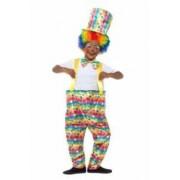 Costum clown copii 115 cm 4-5 ani