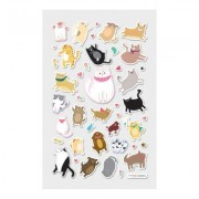 Itsy Bitsy Stickers - Puffy Pets (1 Sheet)