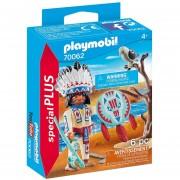 Playmobil Special Plus - Cacique Con Aguila Y Hacha - 70062