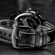Onloon OCHSTIN Genuina Marca De Relojes Suizos Deportes Masculinos Relojes De Lujo Reloj De Cuarzo Resistente Al Agua De Cuero De 6 Polos De Los Hombres (blanca)