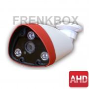 Telecamera Videosorveglianza 1/3 Sony AHD 1080p, Lente fissa 4mm, 3Led, menu OSD