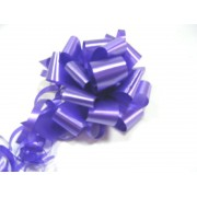 PURPLE 50mm SATIN PULL BOW