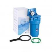 """Központi vízszűrőház - 10""""-os Big Blue nyomásmérővel, konzollal"""